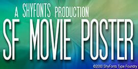 Font Movie Poster