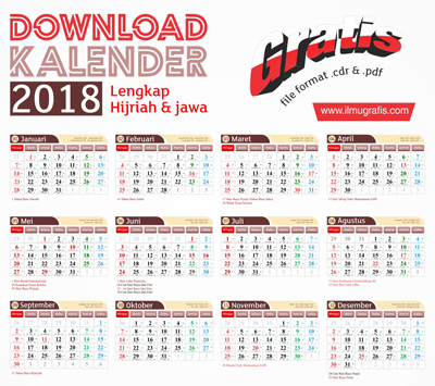Download Kalender 2018