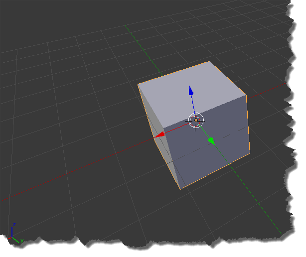 Camera Object User Perspective (Blender)