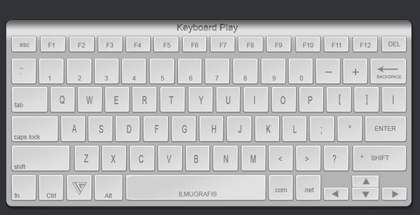 contoh keyboard